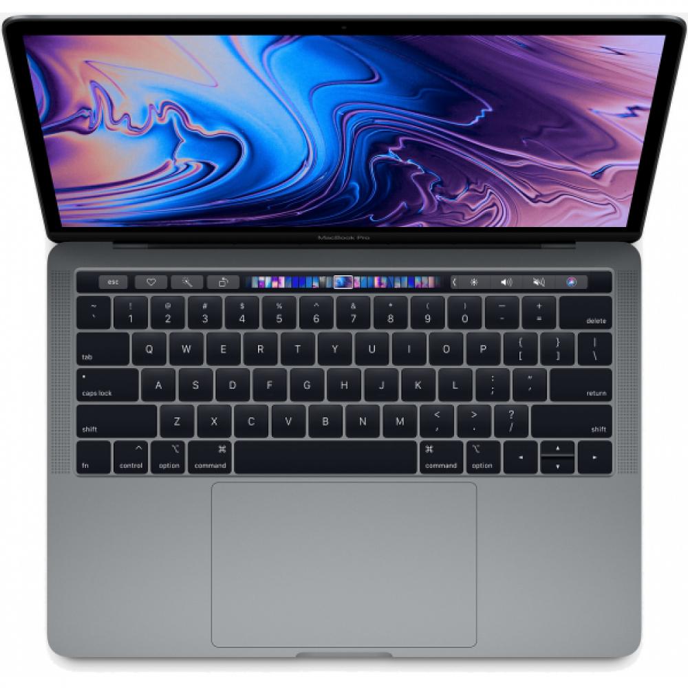 "Apple Macbook Pro MR9Q2 With Touch bar-Ci5 8th-Gen-8Gb-256Gb-13.3"" Retina IPS-MAC OS High Sierra (Space Grey - 2018)"
